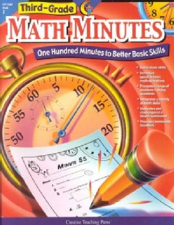 Third-Grade Math Minutes: One Hundred Minutes to Better Basic Skills (Paperback)