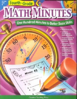Fourth-Grade Math Minutes: One Hundred Minutes to Better Basic Skills (Paperback)