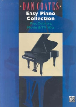 Dan Coates Easy Piano Collection: Pop, Country, Movie & TV Hits (Paperback)