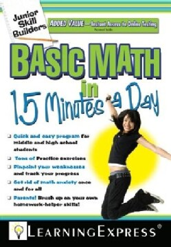 Basic Math in 15 Minutes a Day (Paperback)