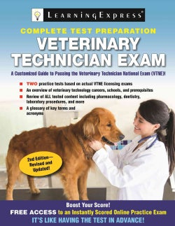 Veterinary Technician Exam (Paperback)