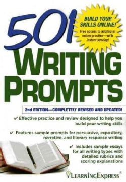 501 Writing Prompts (Paperback)