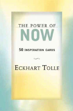 The Power of Now: 50 Inspiration Cards (Cards)