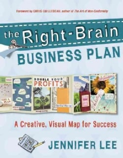 The Right-Brain Business Plan: A Creative, Visual Map for Success (Paperback)