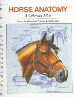 Horse Anatomy: A Coloring Atlas (Paperback)
