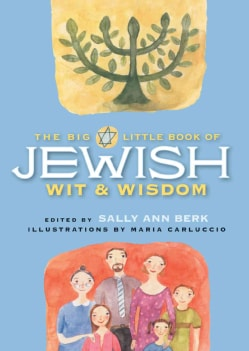 The Big Little Book of Jewish Wit and Wisdom (Hardcover)