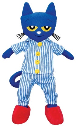 Pete the Cat Bedtime Blues Doll, 14.5 Inch (Doll)