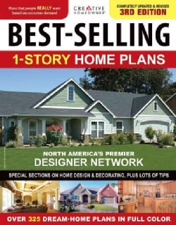 Best-Selling 1-Story Home Plans (Paperback)