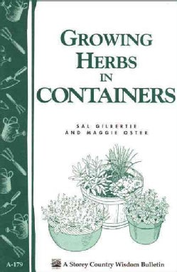 Growing Herbs in Containers (Paperback)