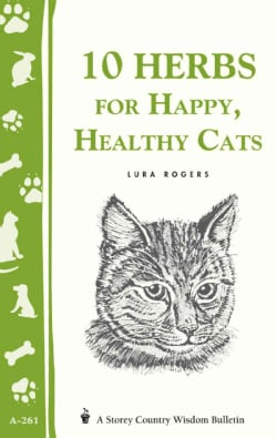 10 Herbs for a Happy, Healthy Cat (Paperback)