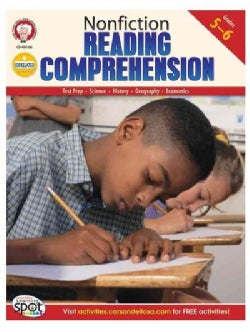 Nonfiction Reading Comprehension: Grades 5-6 (Paperback)