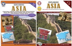 Exploring Asia, Grades 5-8 (Paperback)