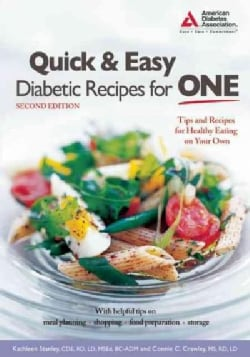 Quick & Easy Diabetic Recipes for One (Paperback)