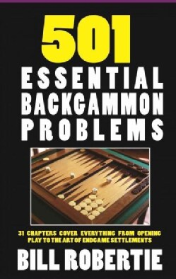 501 Backgammon Problems (Paperback)