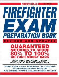 Norman Hall's Firefighter Exam Preparation Book (Paperback)