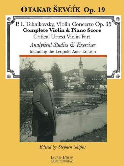 P. I. Tchaikovsky, Violin Concerto Op. 35: Complete Violin & Piano Score; Critical Urtext Violin Part; Analytical... (Paperback)