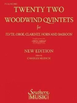 22 Woodwind Quintets: Woodwind Quintet (Paperback)