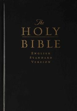 Holy Bible: English Standard Version, Black, Pew and Worship Bible (Hardcover)