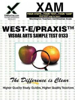 West-e/Praxis II Visual Arts Sample Test 0133 (Paperback)