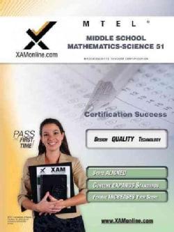 Mtel Middle School Mathematics-science 51 (Paperback)