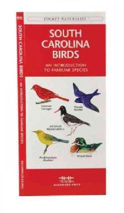 South Carolina Birds: A Folding Pocket Guide to Familiar Species (Paperback)