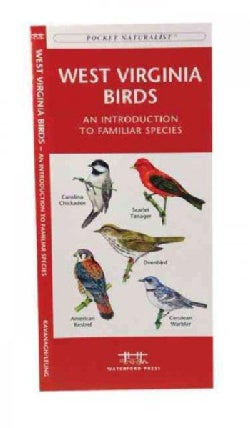 West Virginia Birds: A Folding Pocket Guide to Familiar Species (Paperback)