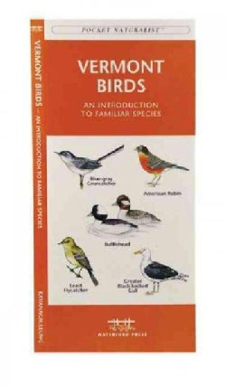 Vermont Birds: A Folding Pocket Guide to Familiar Species (Paperback)