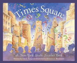 Times Square: A New York Number Book (Hardcover)