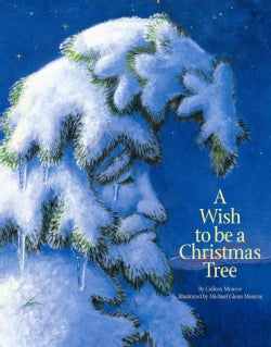 A Wish to Be a Christmas Tree (Board book)