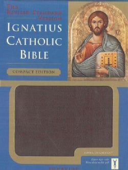 Ignatius Catholic Bible: Revised Standard Version, Burgundy, Zipper Duradera (Paperback)
