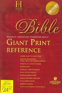 Holy Bible: Holman Christian Standard Bible, Burgundy, Imitation Leather (Paperback)