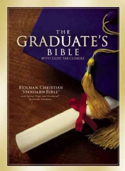 Holman Christian Standard Graduates Bible: Brown Bonded Leather with Slide-Tab Closure (Paperback)