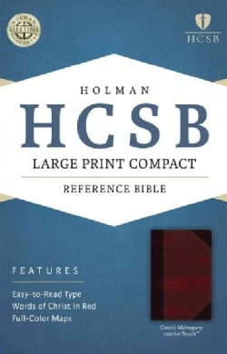 Holy Bible: Holman Christian Standard Bible, Classic Mahogany, LeatherTouch, Reference (Paperback)