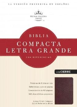 Santa Biblia / Holy Bible: Reina-Valera 1960, Rojizo piel fabricada / Burgundy Bonded Leather, con cierre / With ... (Paperback)