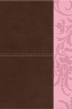 The Study Bible for Women: Brown/Pink, Leathertouch (Paperback)