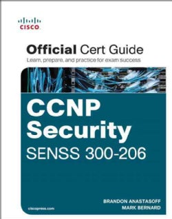CCNP Security SENSS 300-206 Official Certification Guide (Hardcover)