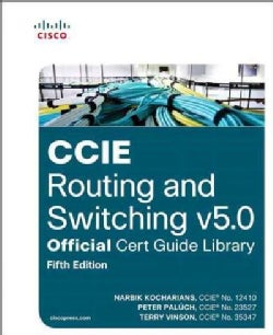 CCIE Routing and Switching v5.0 Official Cert Guide Library (Hardcover)