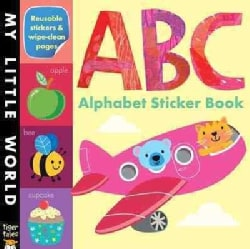 ABC Alphabet Sticker Book (Paperback)