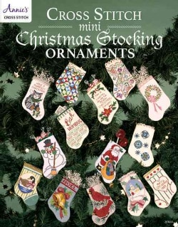 Cross Stitch Mini Christmas Stocking Ornaments (Paperback)