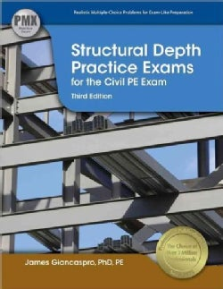 Structural Depth Practice Exams for the Civil Pe Exam (Paperback)