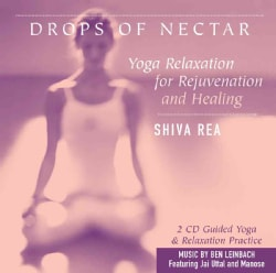 Drops of Nectar: Yoga Relaxation for Rejuvenation and Healing (CD-Audio)