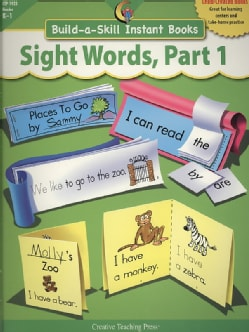 Sight Words Part 1 (Paperback)