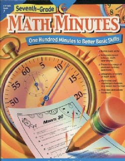 Seventh-Grade Math Minutes (Paperback)