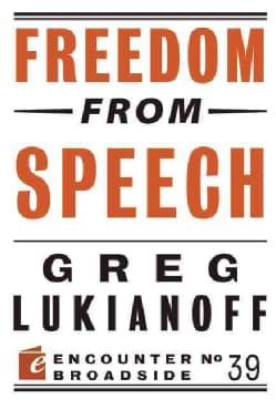 Freedom from Speech (Paperback)