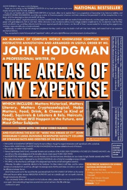 The Areas of My Expertise (Paperback)