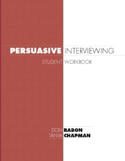 Persuasive Interviewing (Paperback)