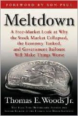 Meltdown: A Free-Market Look at Why the Stock Market Collapsed, the Economy Tanked, and Government Bailouts Will ... (Hardcover)