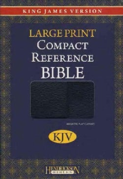 KJV Compact Reference Bible, with Magnetic Closure: King James Version, Black Bonded Leather, Compact Reference B... (Paperback)