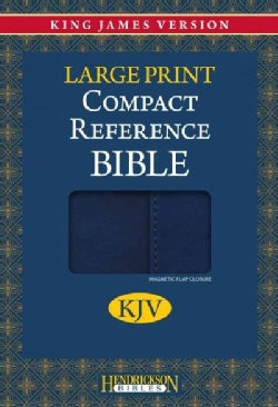Holy Bible: King James Version Blue with Magnetic Flap Flexisoft Reference (Paperback)