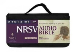 NRSV Audio Bible: New Revised Standard Version, Catholic Edition, Voice Only (CD-Audio)